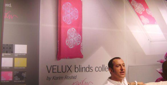 Karim Rashid stores Velux