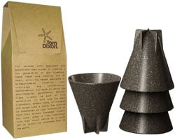Tasses design - Les tasses biodégradables Eco Cup de Tom Dixon