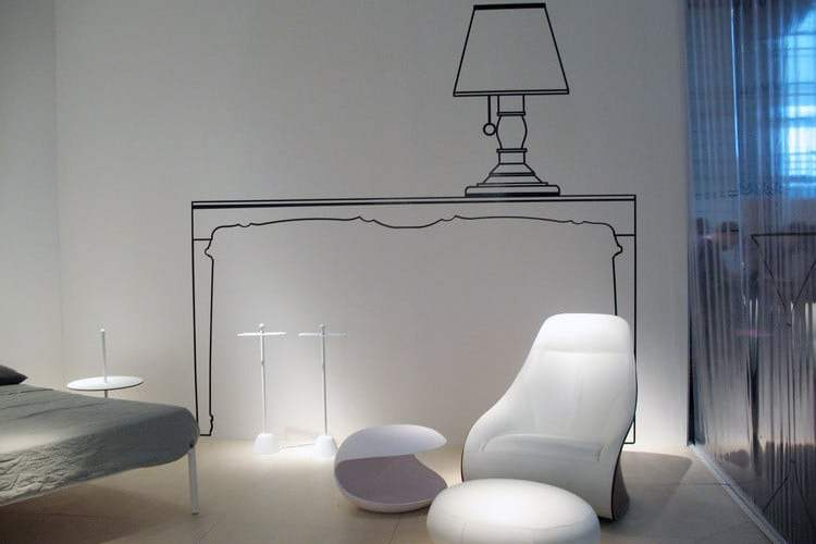 table White Shell Salvatore Indriolo Zanotta