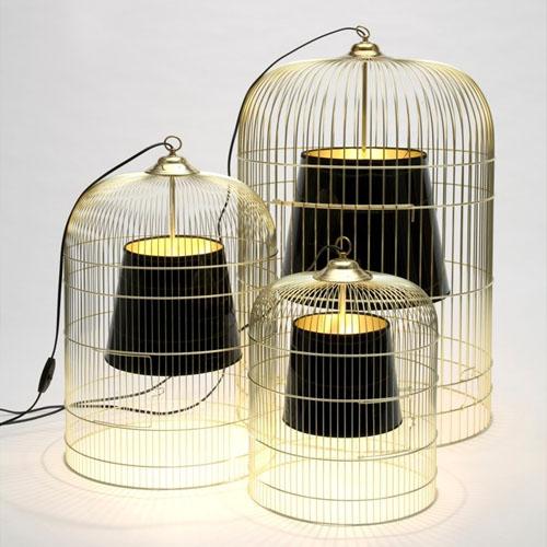 Pierre Gonalons Sunset lampe en cage