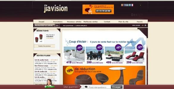 Jiavision boutique déco