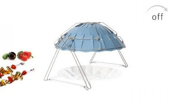 Le barbecue solaire Inoxa