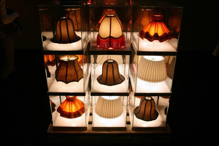 Teca Mini lampe barocco moderne Ron Gilad