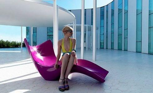 Surf Tumbona bain de soleil Karim Rashid