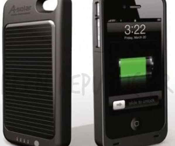 coque solaire pour iPhone4