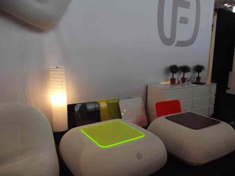 Les meubles gonflables Fugu - Concurrent de BubblePro