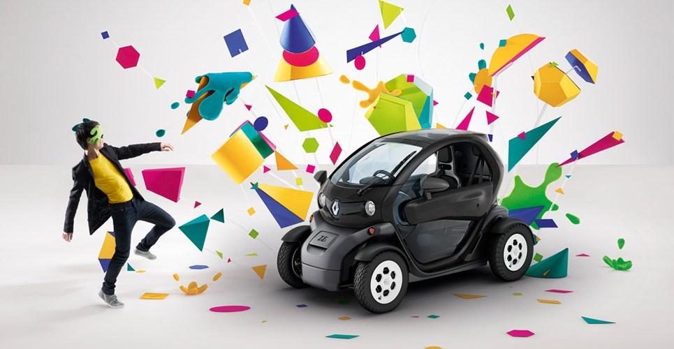 Twizy voiture électrique design