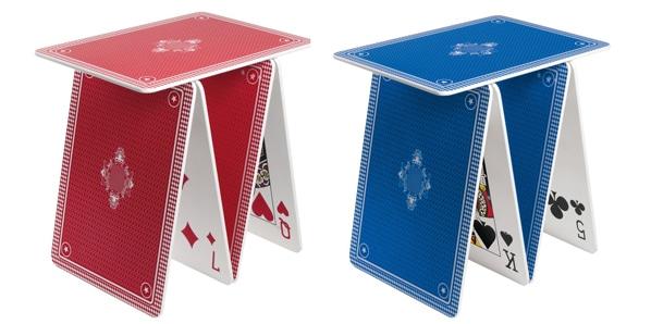 La table château de cartes