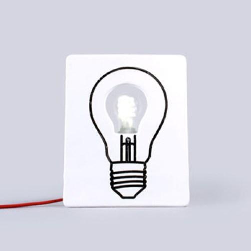 Drawlamp lampe personnalisable geeks