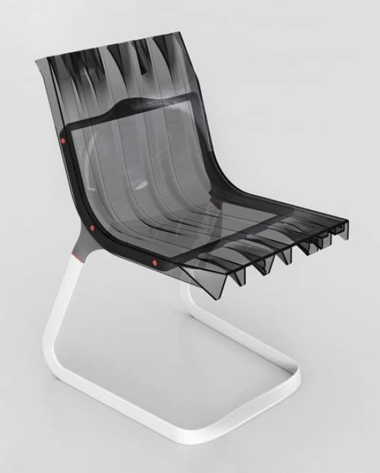 La chaise en métal Abarth by Fabio Novembre