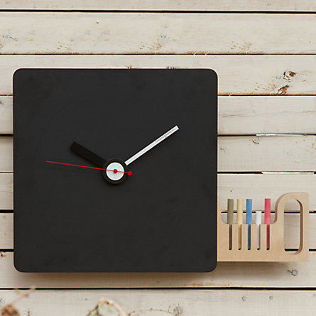 Horloges design :  Chalkboard
