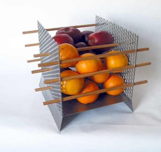 Modern Fruit Bowl 'Apples and Oranges' series