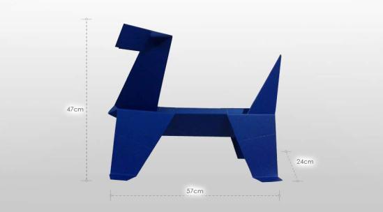 Doggy Sculpture - La sculpture en métal by Georges Pellissier et Julien Darnis