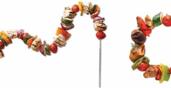 FireWire brochettes flexibles spéciales marinade