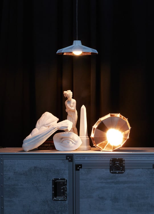 Lustre cuisine - Le lustreMysterio by Diesel with Foscarini
