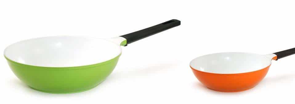 wok céramique écologique Cookut