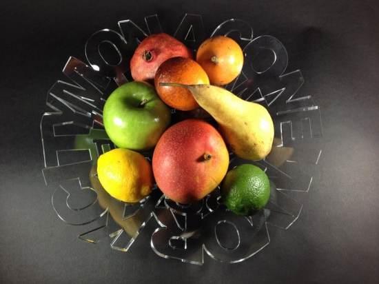 3 corbeilles à fruits design byPascal Teiten