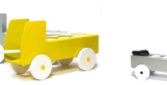 Plug Truck porte-multiprise déco Jorg Gatjens