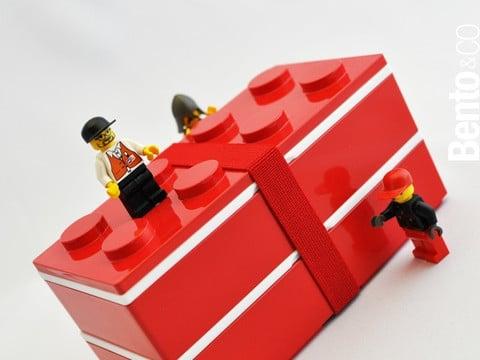 Block boîte à bento Lego