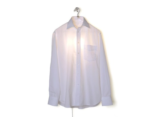 Clothes hanger lampe Hector Serrano