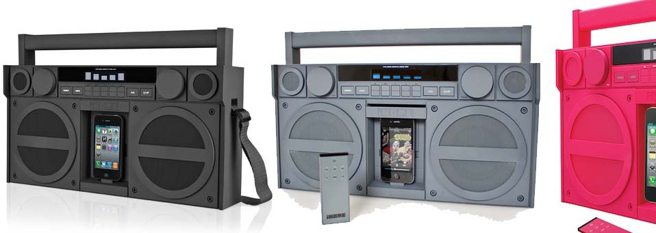 Boombox iP4 iPhone