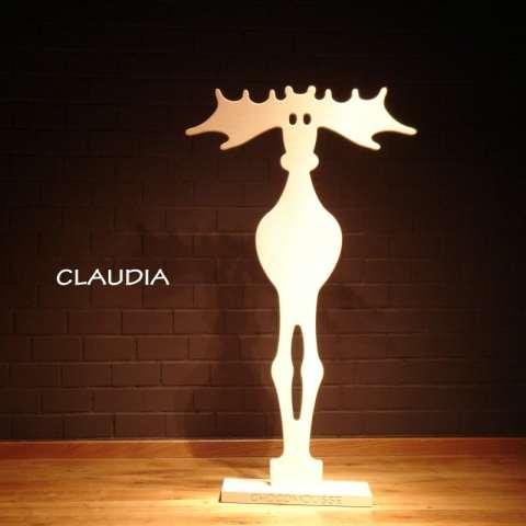 Claudia et Max porte-vêtements Eric Vandewinckel