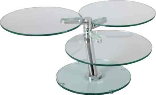 Tables basses originales - La table basse articulé ronde