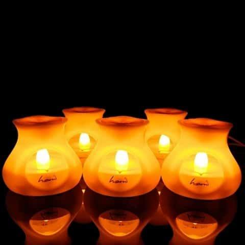 lampe bougie aromatique USB