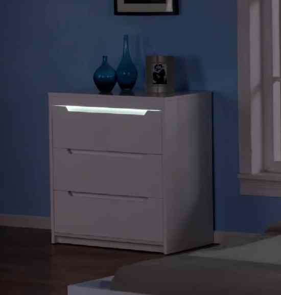 commode rétroéclairé LEDs Maia