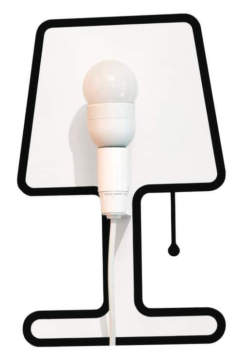 Tiny Lampe lampe Sticker Alice Rosignoli