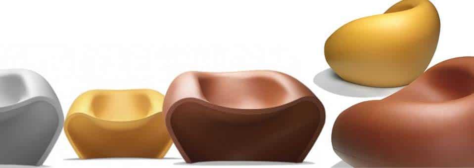 fauteuil d'extérieur Lovely Marco Maran