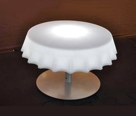 table basse capsule lumineuse Fizz Gianni Arnaudo