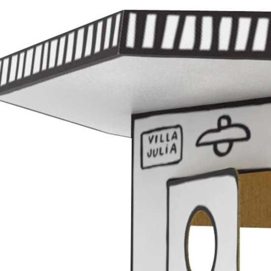 Villa Julia cabane Javier Mariscal