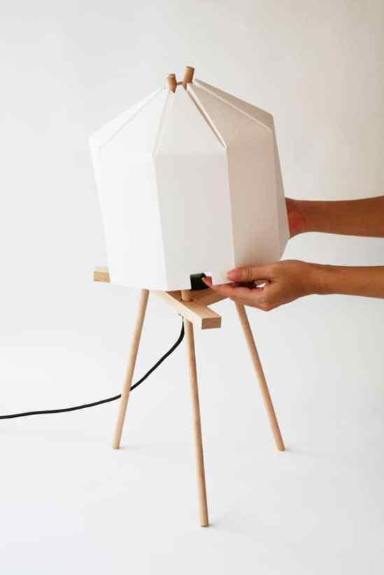 Lampes design -La paper lamp de Milk Design 3