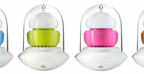 Frederic Gooris lampe portable UFO alessilux