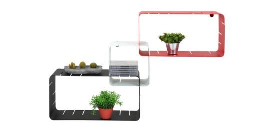 Étagères design - L'étagère modulable Intégrale