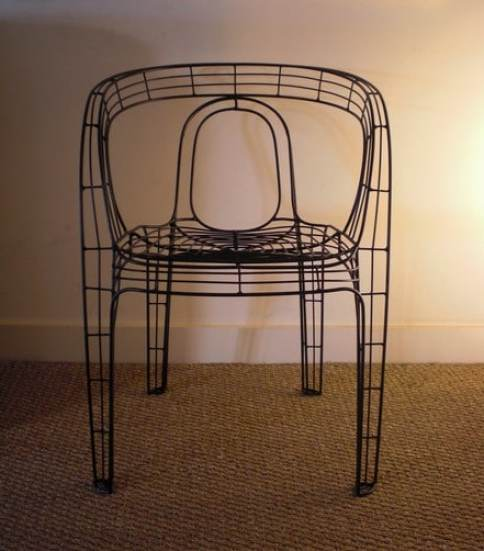 La chaise design Spider