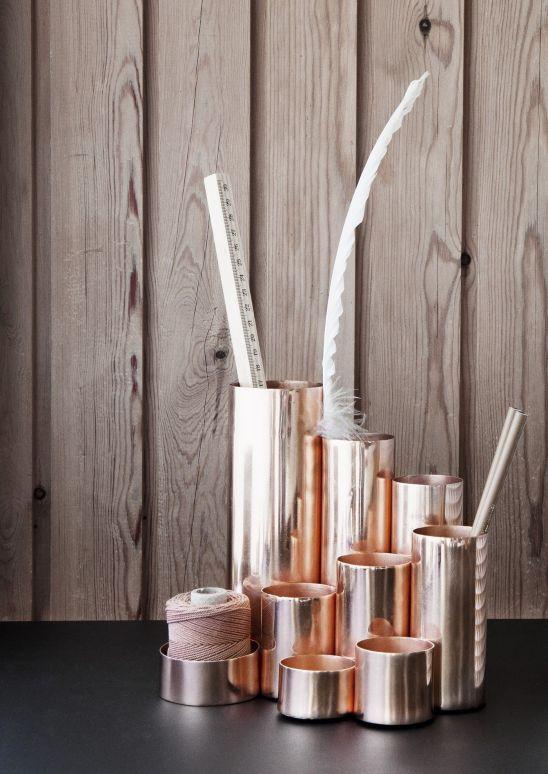 porte-crayons Copper Trine Andersen