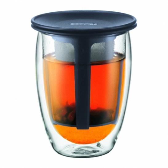 verre infuseur à théTea for one de Bodum