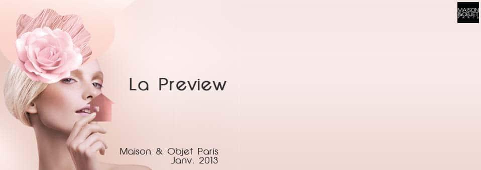 Maison&Objet Paris 2013