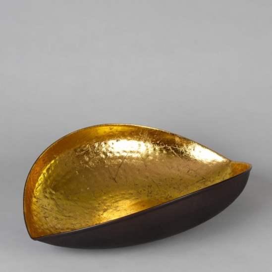 corbeille coupe décorative dorée Casbah Siléa