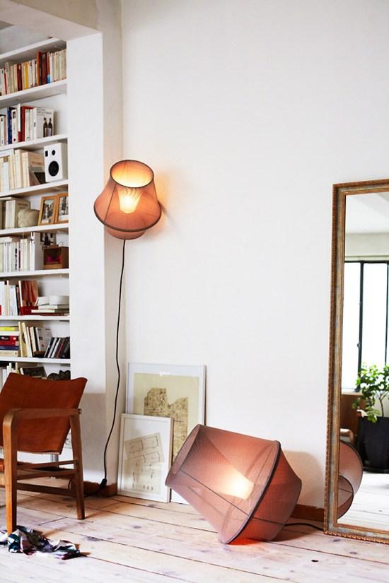 Marc Sarrazin lampe Moire