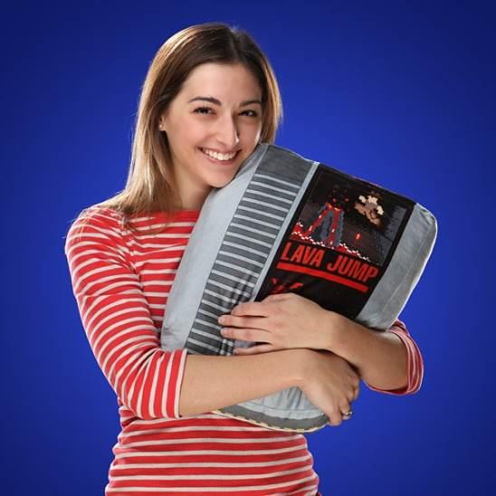 Les coussins originaux NES