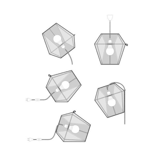 lampe Moire