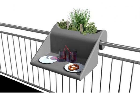 balkonzept la table de balcon by michael hilgers. Black Bedroom Furniture Sets. Home Design Ideas