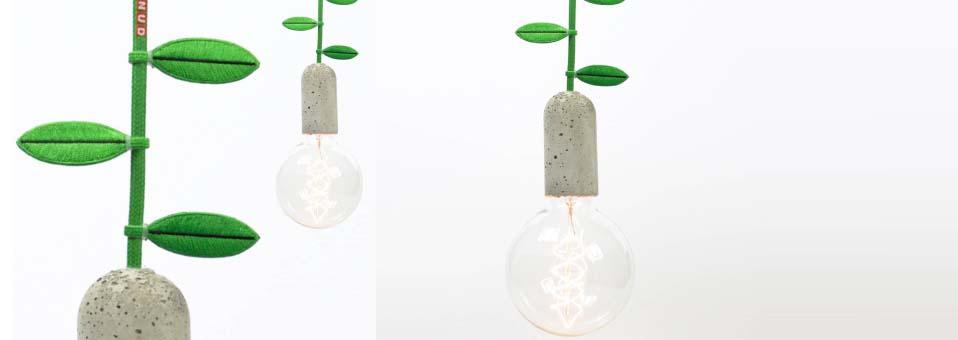 feuilles décoratives fils électriques Nud Collection