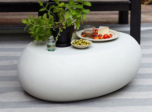 Tables basses originales -Galet Rock Steady 1