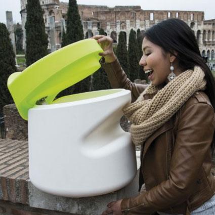 Tabouret design Broncio de Filippo Mambretti