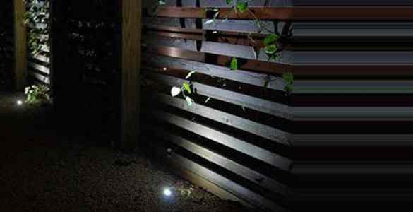 luminaire d'extérieur miniature
