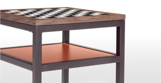 Olivia Putman table damier Contrast